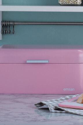 Emsan Avena Ekmek Kutusu Baby Pink
