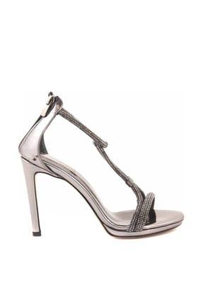 Tanca Kadın Platin  Klasik Topuklu Ayakkabı  191Tck757 0374