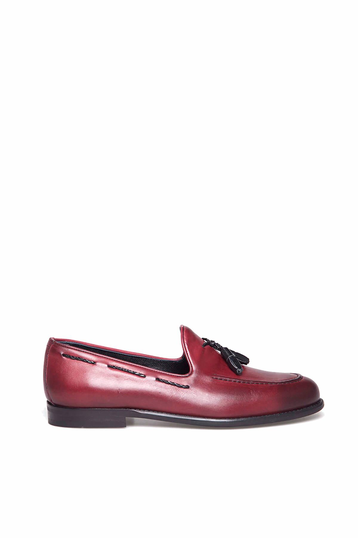 TETRİ Bordo Erkek Ayakkabı 3S811886120 1