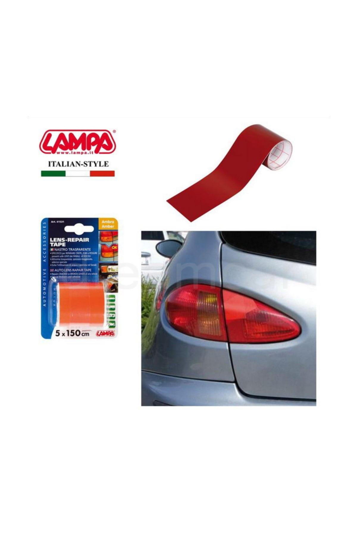 Lampa Sinyal,Stop Tamir Edici Kırmızı Transpan Bant 5x150cm 41532 1