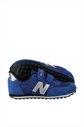 New Balance Mavi Gri Kız Çocuk Ayakkabı KE410BUY