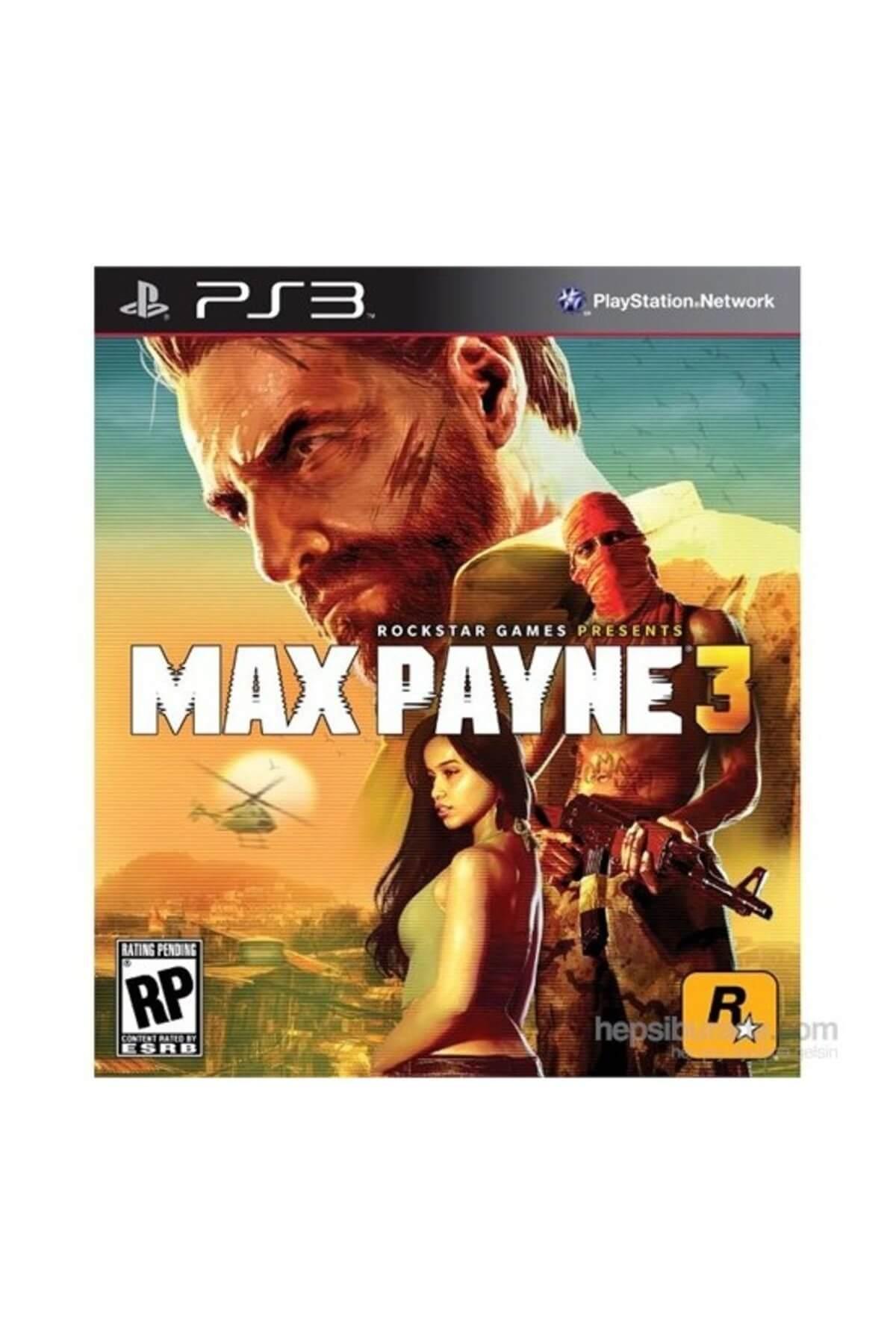 RockStar Games Max Payne 3 Ps3 Oyunu 1