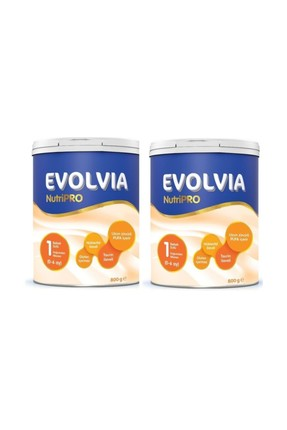 Evolvia 1 Bebek Sütü 800 Gr 2'li Set 0-6 Ay