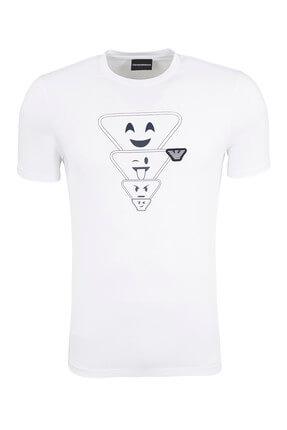 Emporio Armani Beyaz Erkek T-Shirt