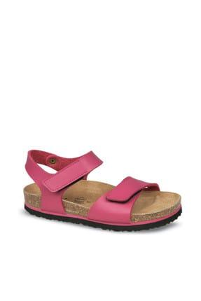 Ceyo Fuşya Çocuk Sandalet 01554