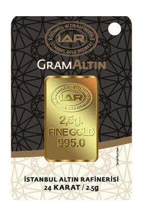 Harem Altın 2.5 gr IAR Gram Külçe Altın  HRM7912