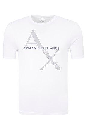 Armani Exchange Erkek Beyaz T-Shirt 8NZT76Z8H4Z 1100
