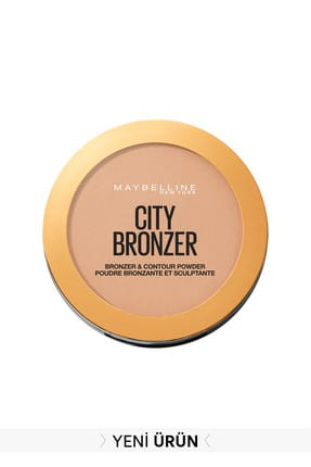 Maybelline New York City Bronze Bronzlaştırıcı & Kontür Pudrası Orta. Soğuk Ton 200 Medium Cool 3600531528997