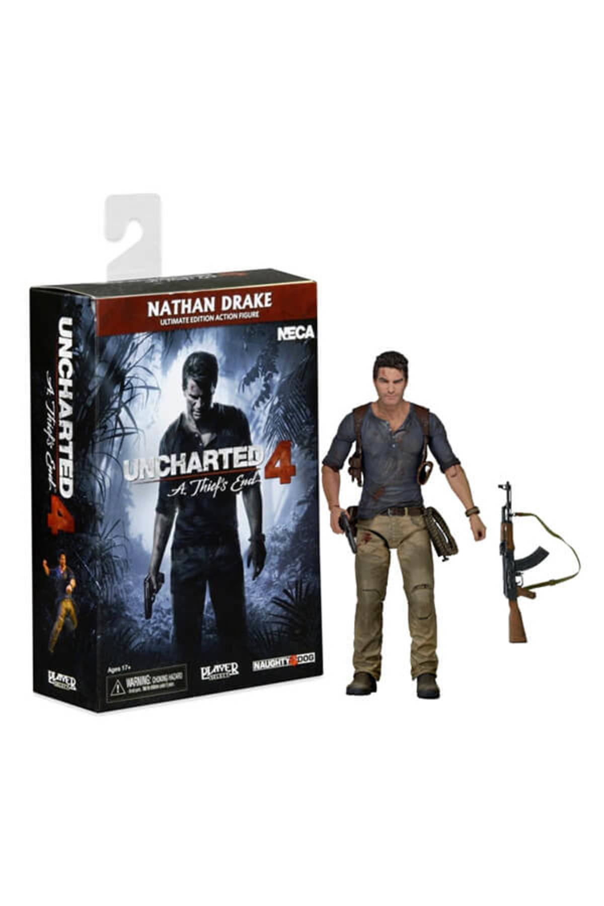 Neca Uncharted 4 Ultimate Nathan Drake 7 Inch Action Figure 2