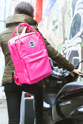 Fudela Kjm Pink Backpack