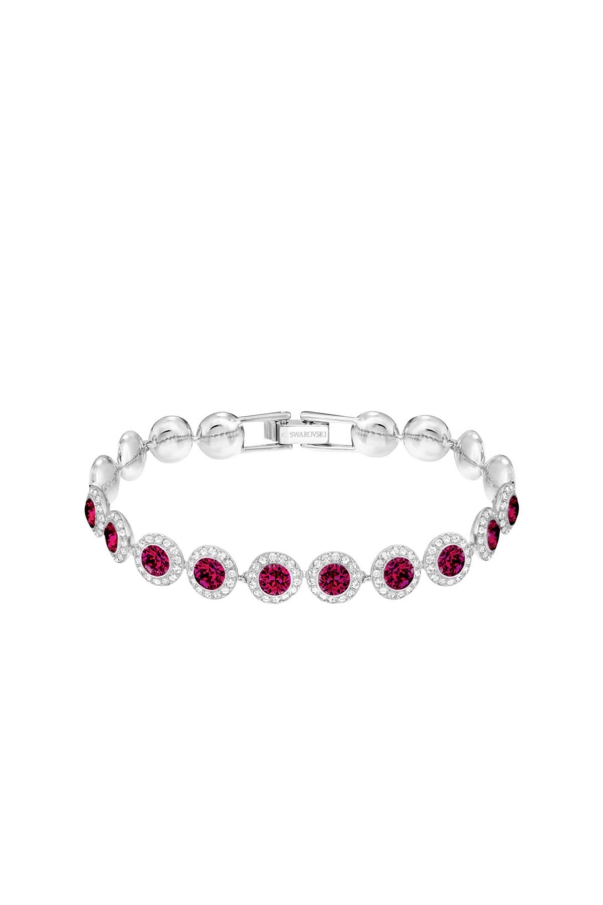 Swarovski Kadın Bilezik Angelic:Bracelet Rby/Cry/Rhs M 5446006 2