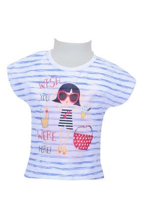 Zeyland Beyaz Kız Bebek T-Shirt 71Z2MPC52