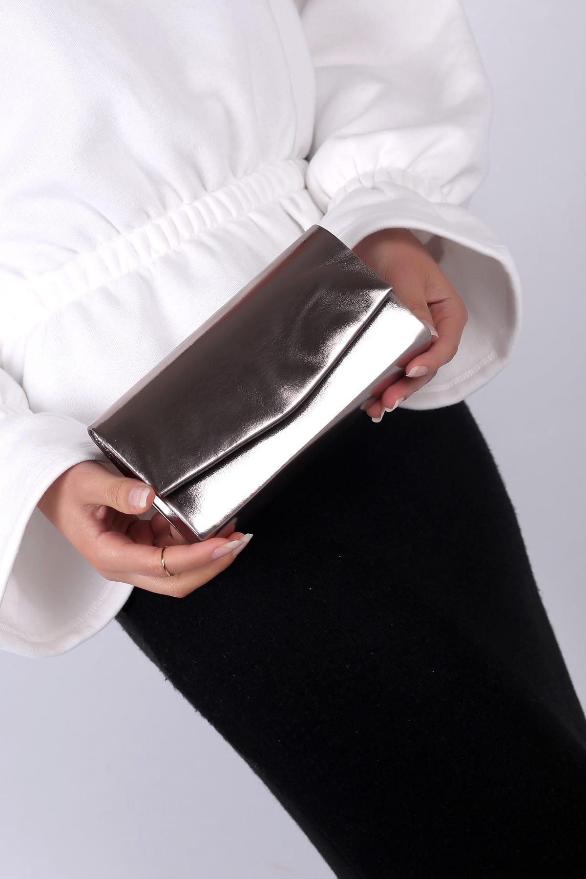 WMİLANO Gri Kadın El Çantası C0201-18 1