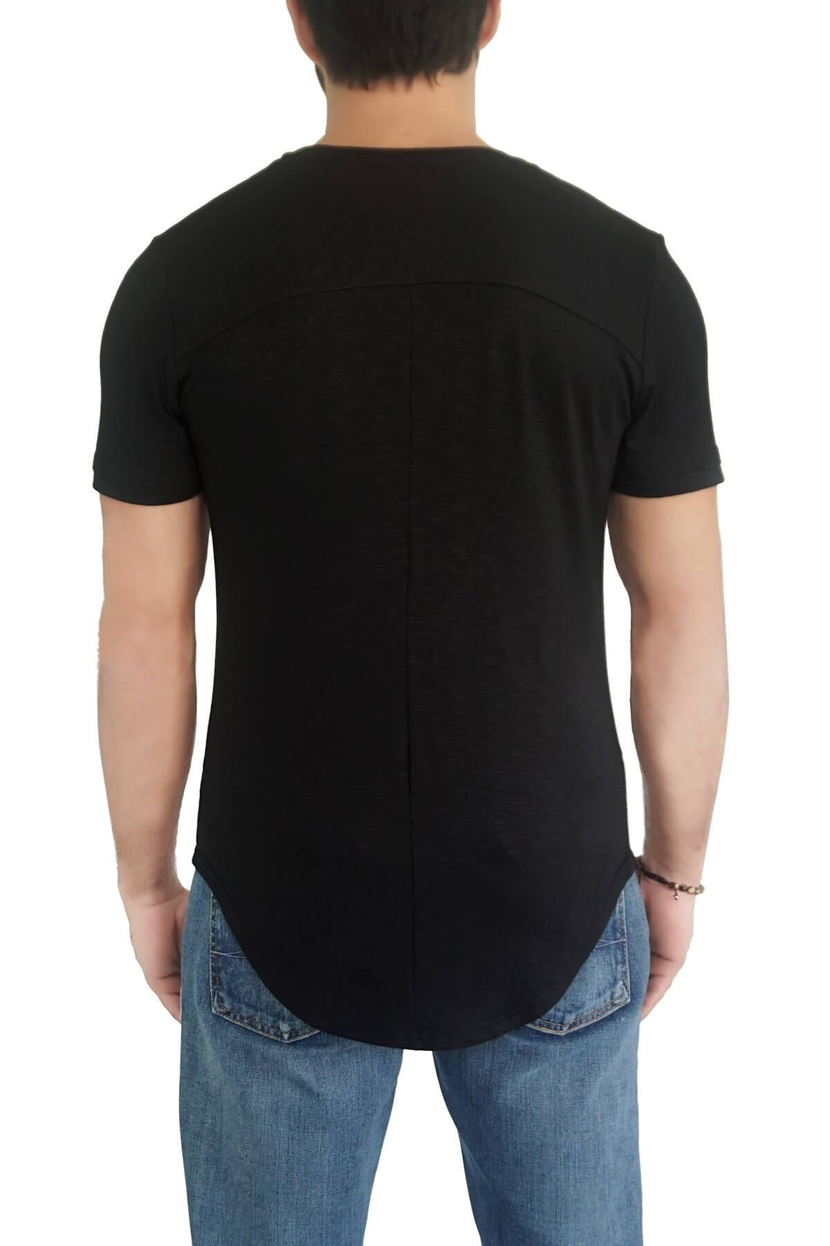 MOF Erkek Siyah T-Shirt SYÇKOET-S 2