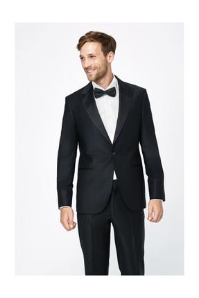 Kiğılı Erkek Siyah Takım Elbise - 14393