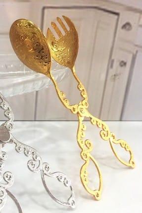 Manor Altın Kaplama Servis Maşası