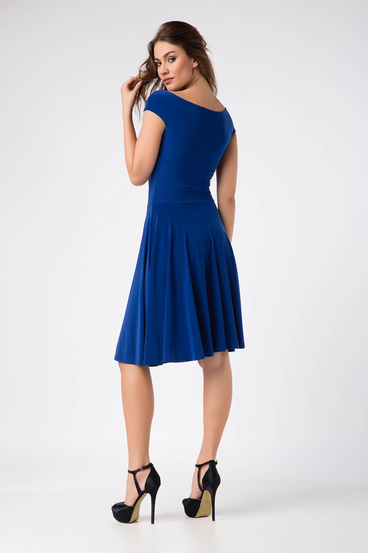 Laranor Kadın Saks Elbise 14L1062-L 2