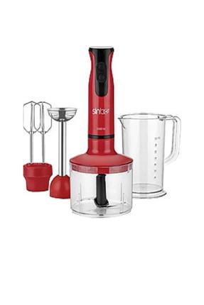Sinbo Shb-3141 Kırmızı Blender Set