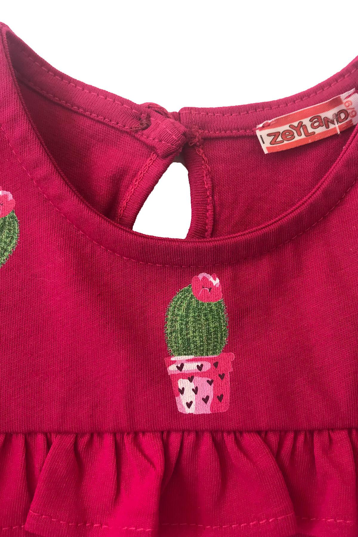 Zeyland Fusya Kız Bebek T-Shirt 81Z2FHR51 2