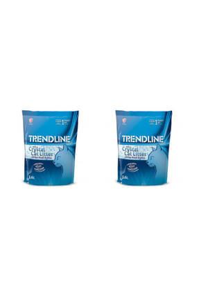 Trendline Tozsuz Silika Kedi Kumu 3.6 Lt X2 Adet