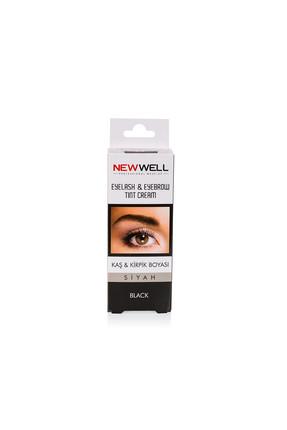 New Well Kaş & Kiprik Boyası - Siyah 8680923320915