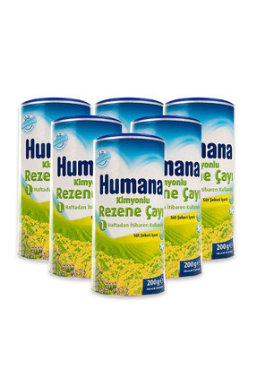 Humana Kimyonlu Rezene Çayı 200Gr X 6 Adet Ib30548