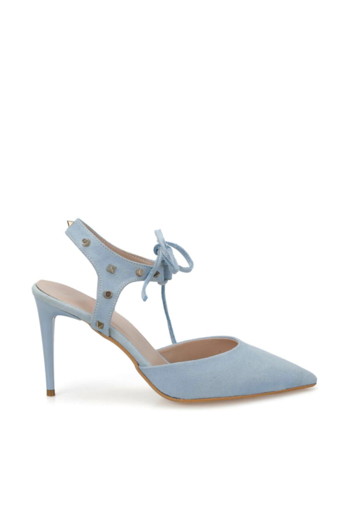 Miss F DS19069 Mavi Kadın Stiletto 100382317 2