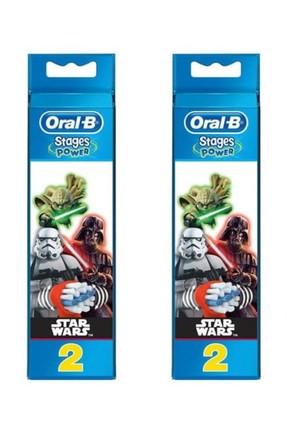 Oral-B Stages Power Star Wars Diş Fırçası Yedeği 2'li x 2 Adet