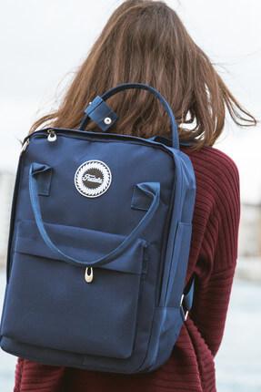Fudela Kjm Navy Blue Backpack