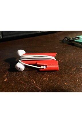 AldımGeldi Iphone 7 Uyumlu Kulaklık Sargısı Tutucu Organizer