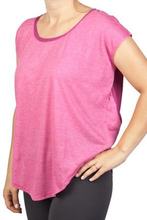 Exuma Fuşya Kadın Spor T-shirt - 362203