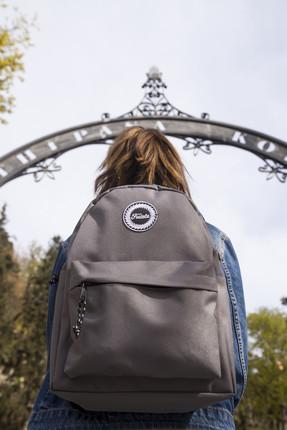 Fudela ZYE Grey Backpack Sırt Çantası