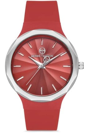 Sergio Tacchini St.1.10131.5 Kırmızı Kadın Kol Saati