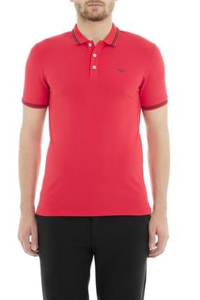 Emporio Armani Kırmızı Erkek T-Shirt 8N1F30 1JPTZ 0391