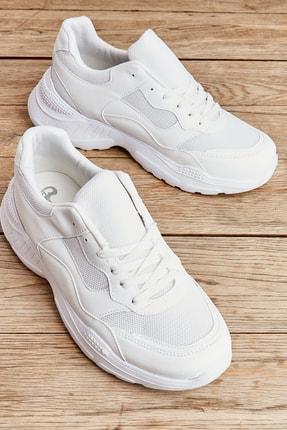 Bambi Beyaz Erkek Sneaker L1806069422