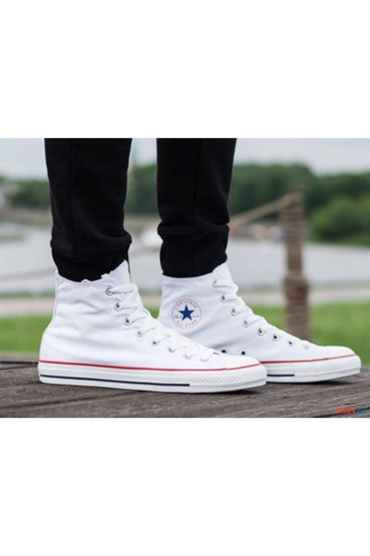 converse Erkek Beyaz Sneaker M7650c Chuck Taylor All Star Optıcal Whıte Kanvas 1