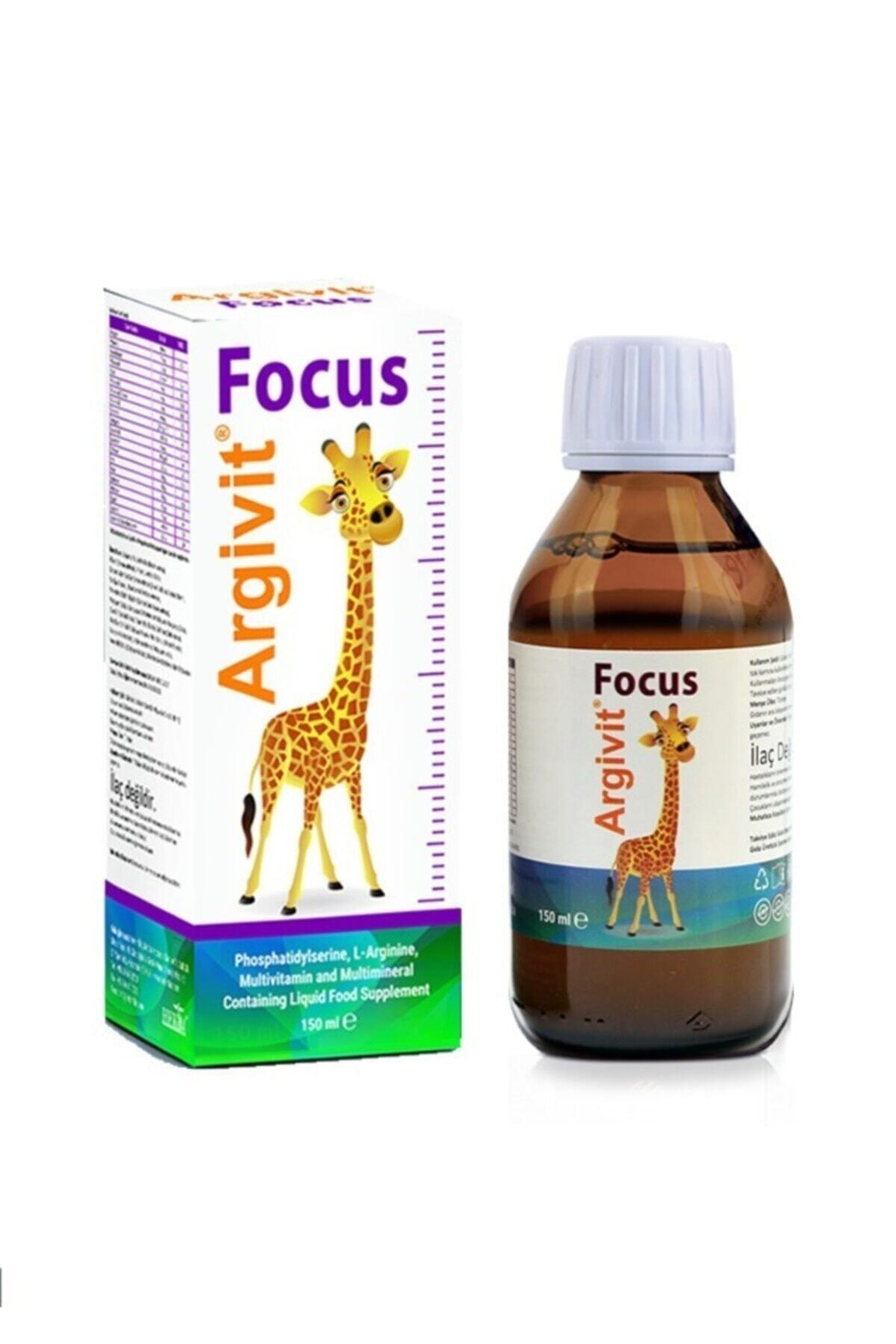 HEKİM İLAÇ Argivit Focus Şurup 150 ml 1