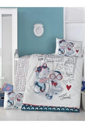 Komfort Home Bebek Nevresim Takımı %100 Pamuk / Travel Bears