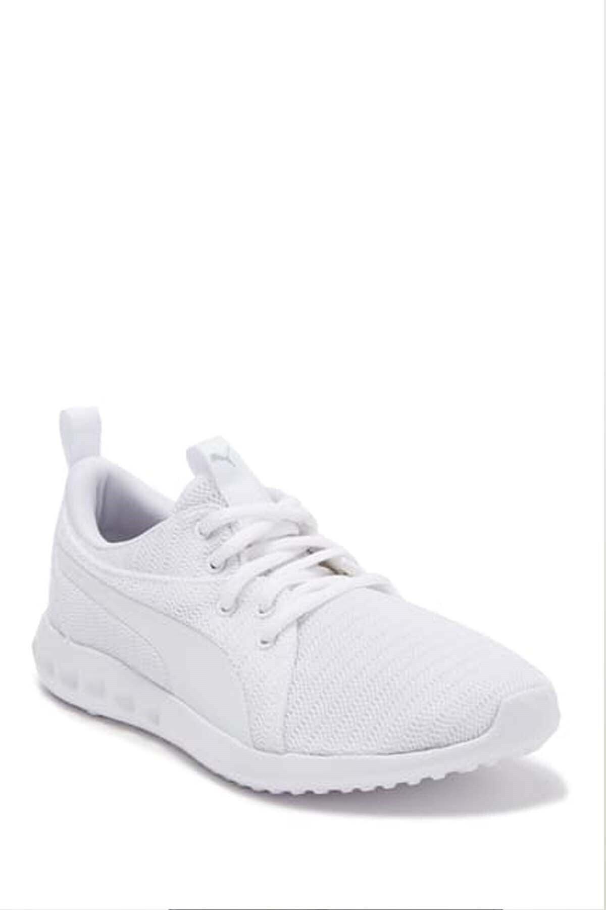 Puma Carson 2 Jr Kadın Günlük Spor Ayakkabı 190072 05 Beyaz 2