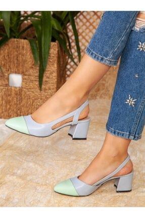 ayakkabıhavuzu Topuklu Ayakkabı - Mavi - Ayakkabı Havuzu