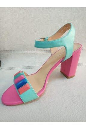 Poletto Turkuaz/fuşya Klasik Topuklu Ayakkabı