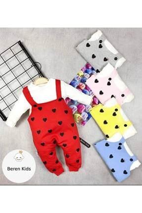Beren Kids Kalp Desenli Bebek Slopet Takım