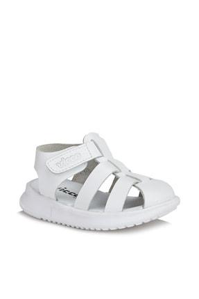 Vicco Pisa Unisex Ilk Adım Beyaz Sandalet