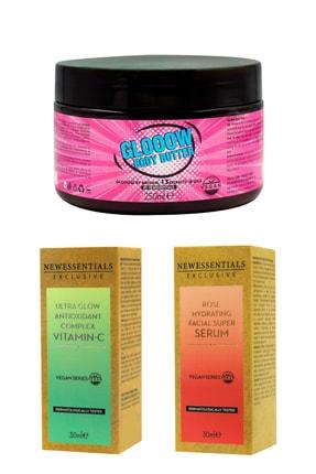 New Essentials Vücut ve Yüz Bakım Vegan Set 3'lü