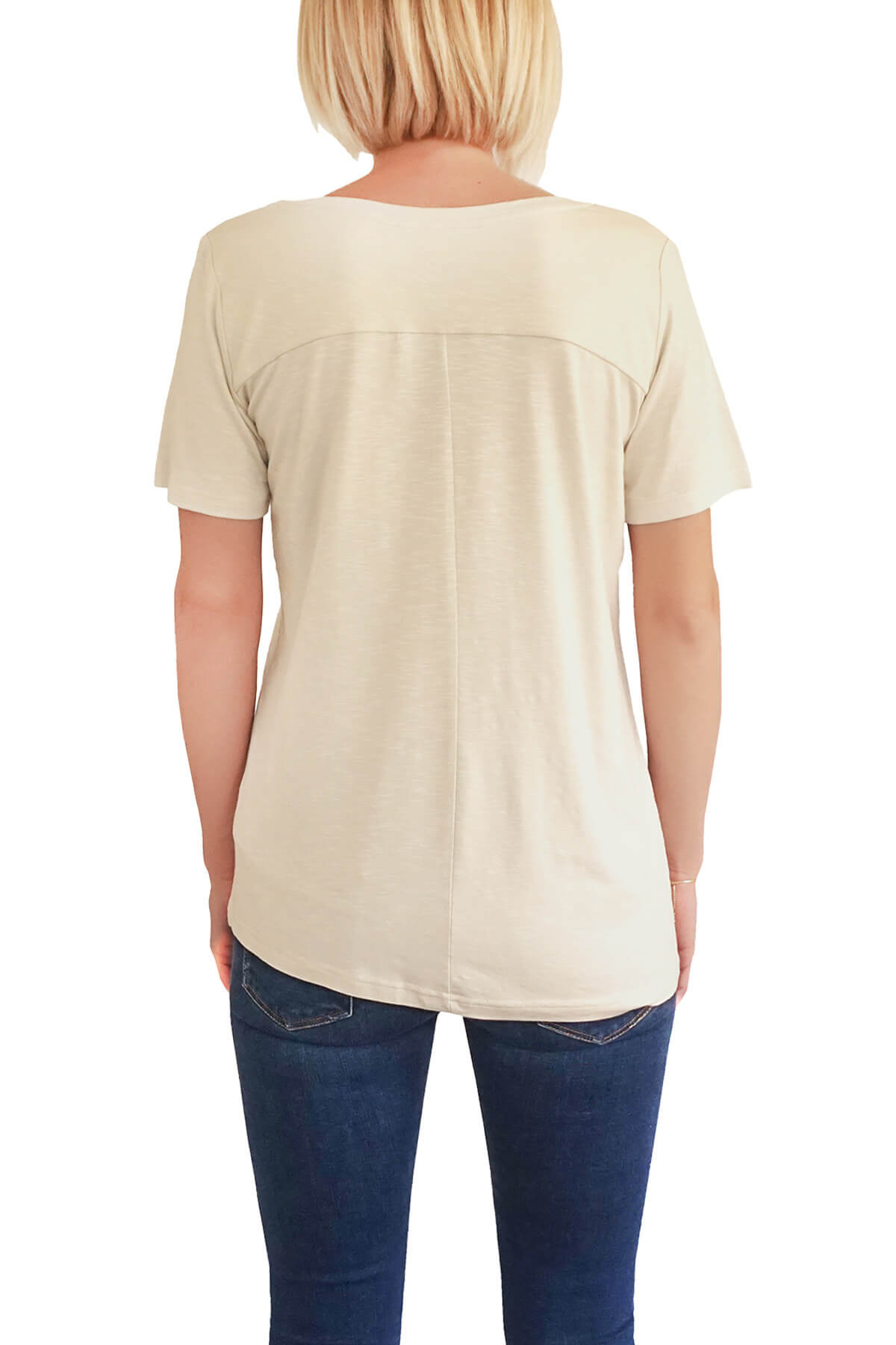 MOF Kadın Taş T-Shirt VYCT-T 2