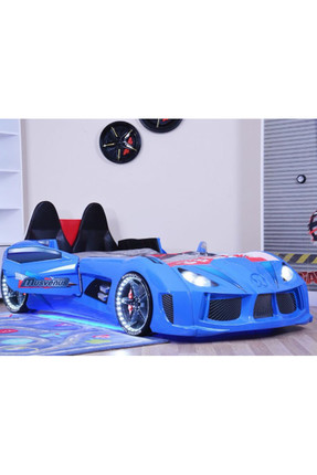 Setay Audi Arabalı Yatak Kapıları Açılan Mavi