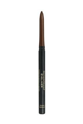 Golden Rose Suya Dayanıklı Kahverengi Göz Kalemi - Waterproof Automatic Eyeliner No: 10 8691190990107