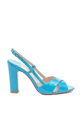 Vario Kadın Turkuaz Klasik Topuklu Ayakkabı Y15-27730