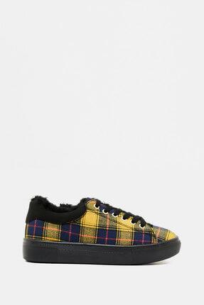 Koton Kadın  Sarı Bağcıklı Ayakkabı 9KAL23009OA