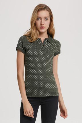 Lee Cooper Kadın Ayda Pike Polo Yaka T-Shirt 192 LCF 242015